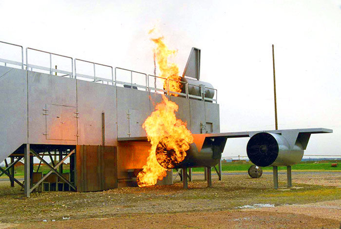 Fire Training System - Plane