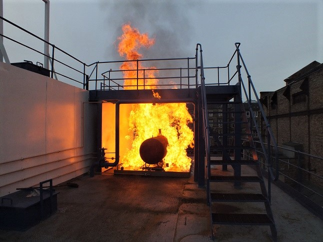 Fire Training System - Tank